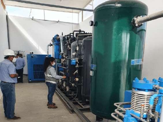 Fabrica de plantas generadoras de oxigeno
